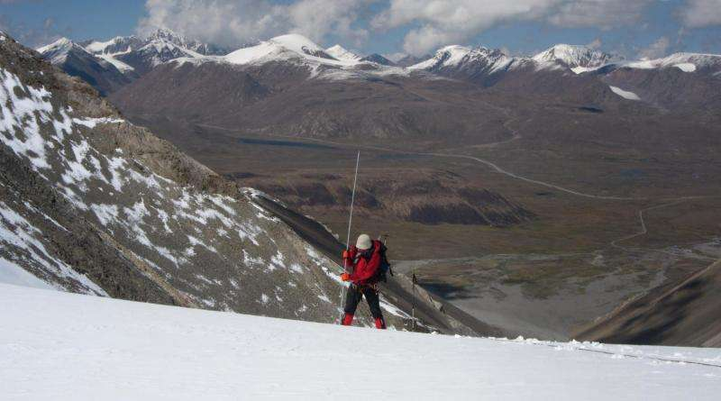 Substantial glacier ice loss in Central Asia's largest mountain range
