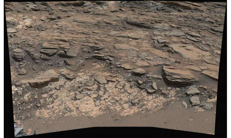 mystery rover curiosity white rock - photo #9