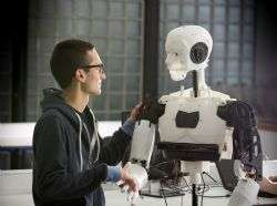 Research reveals robot flaws are key to interacting with humans