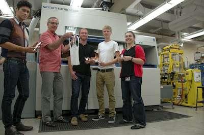 Advanced 3D printer sparks unique collaborations across campus