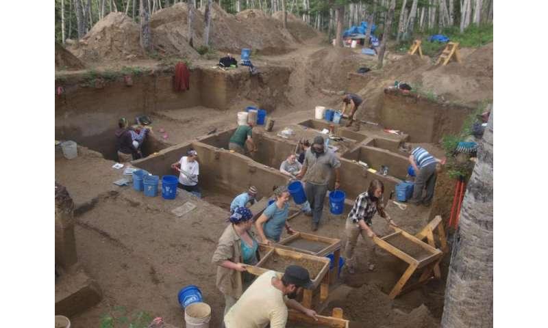 Ancient babies boost Bering land bridge layover