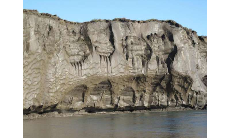 Ancient permafrost quickly transforms to carbon dioxide upon thaw