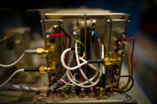 Atomic clocks designed to work in space have helped prove Albert Einstein's theory that time moves more slowly in proximity to a