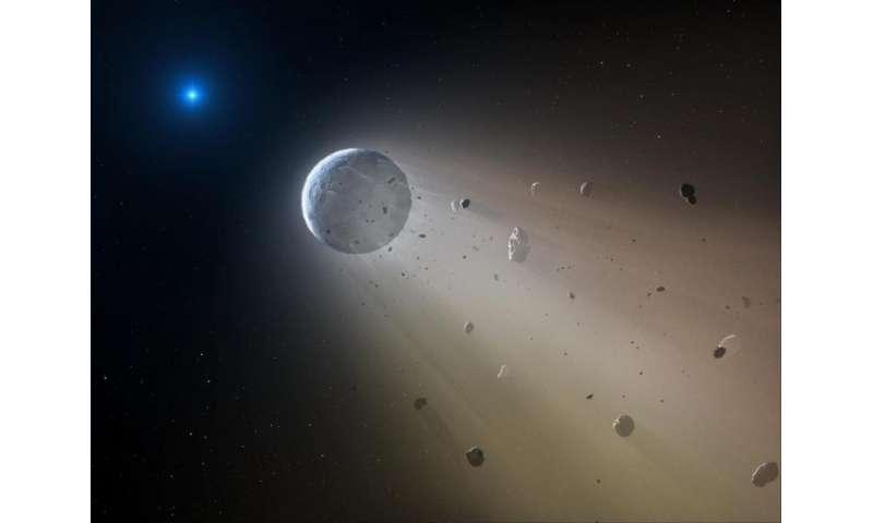 Cosmic 'Death Star' is destroying a planet