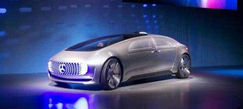 Daimler gives look at autonomous 'living space' car