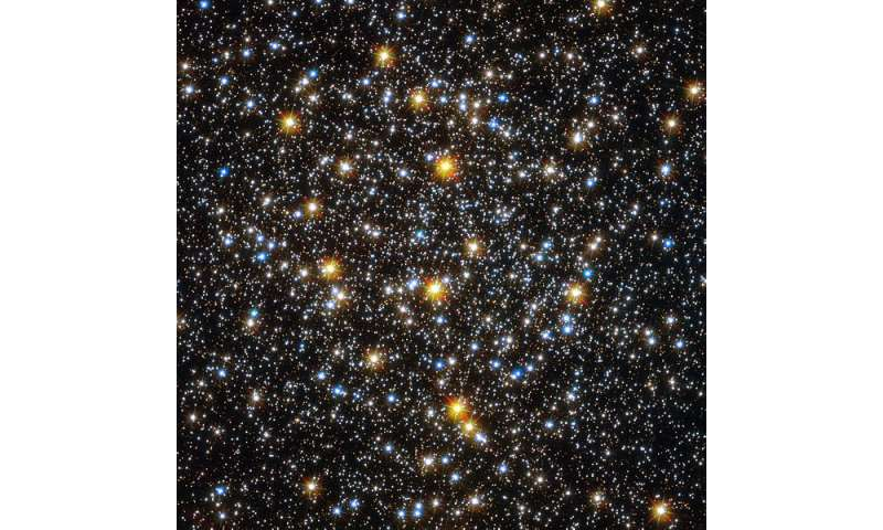 Disrupted globular cluster found in the constellation of Draco