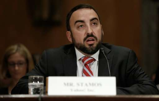 """Facebook chief security officer Alex Stamos, pictured May 15, 2014, said in a blog post, """"Starting today, we will notify yo"""
