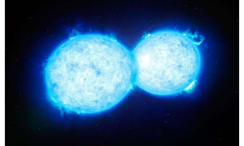 Final kiss of 2 stars heading for catastrophe
