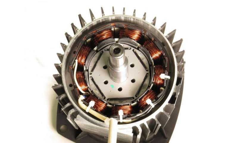 Improving electric motor efficiency via shape optimization