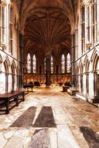 Laser mapping Lincoln Cathedral to uncover its architectural secrets