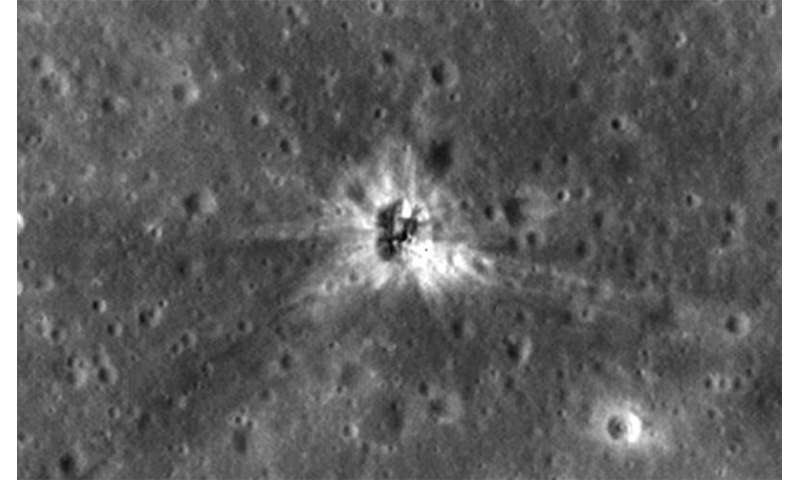 LRO finds Apollo 16 booster rocket impact site