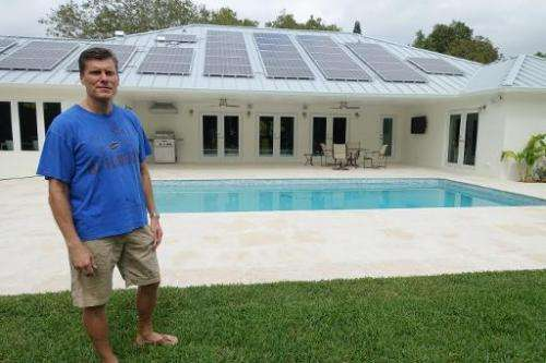 Mark Heise, a lawyer who recently installed solar panels on his house in a southern suburb of Miami, paid $40,000, or $28,000 af