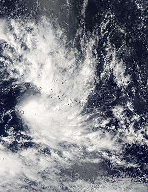 NASA sees Tropical Cyclone Niko's romp through society