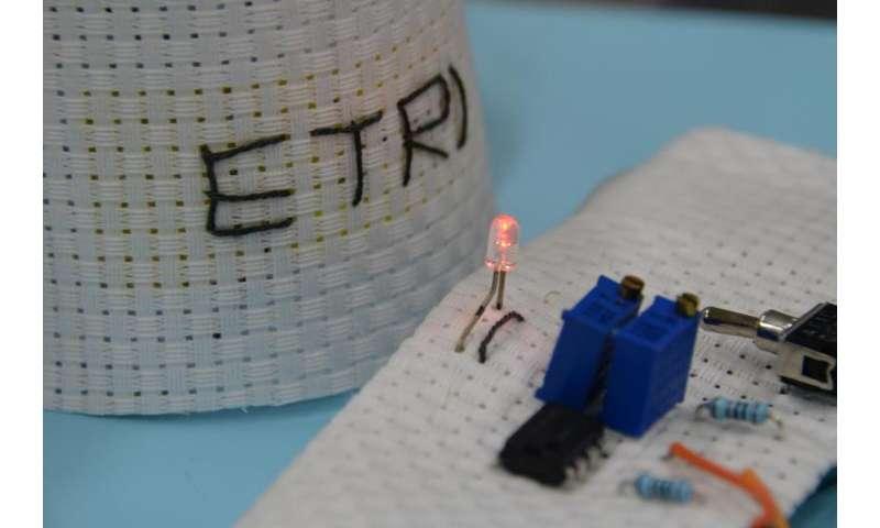 "New graphene-coated ""e-fabrics"" detect noxious gases"