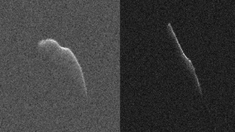 Radar images of a Christmas Eve asteroid—an early gift for astronomers