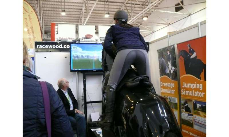 Riding a horse is far more complex than riding simulators