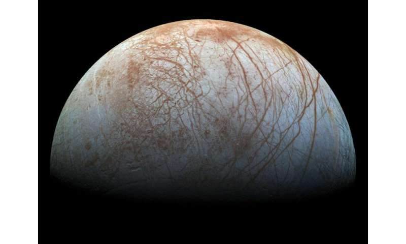 Robotic tunneler may explore icy moons