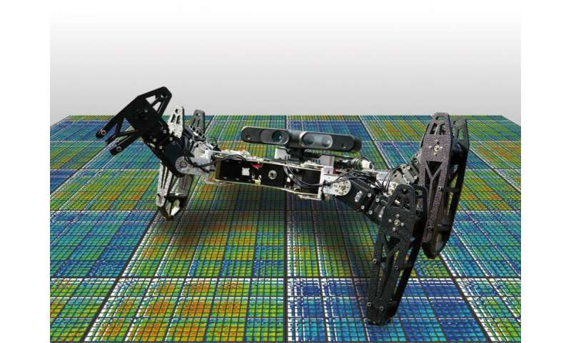 Robots can recover from damage in minutes