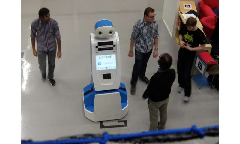 Robot to help passengers find their way at airport