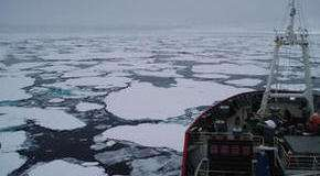 Submarine data used to investigate turbulence beneath Arctic ice