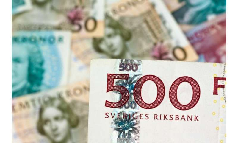Sweden is on track to becoming the first cashless nation
