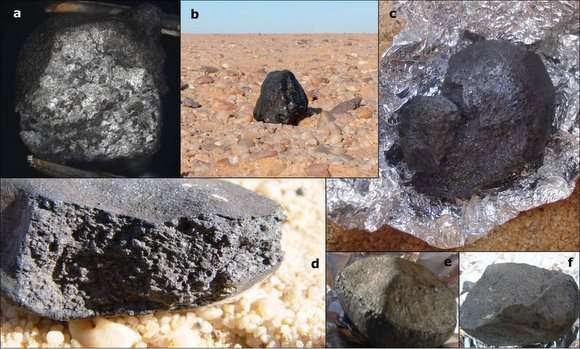 asteroids and meteorites - photo #26