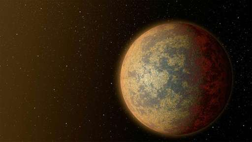 This artist's rendition released by NASA on July 30, 2015 shows one possible appearance for the planet HD 219134b