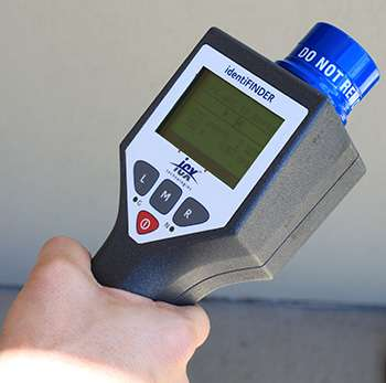 Ultra-realistic radiation detection training without using radioactive materials