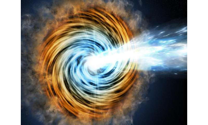 VERITAS detects gamma rays from galaxy halfway across the visible universe