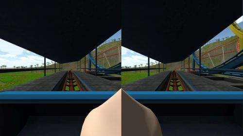 'Virtual nose' may reduce simulator sickness in video games