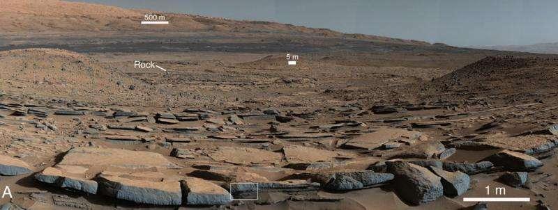 Mokri Paleoklimatolo Marsa otkrio drevne jezera na Gale krater