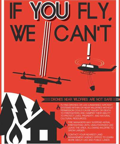 Agency enlists high-tech help keeping drones from wildfires