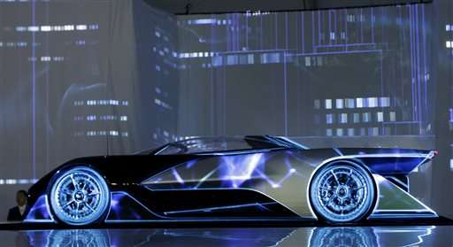 Faraday reveals sleek, sporty concept car in Vegas