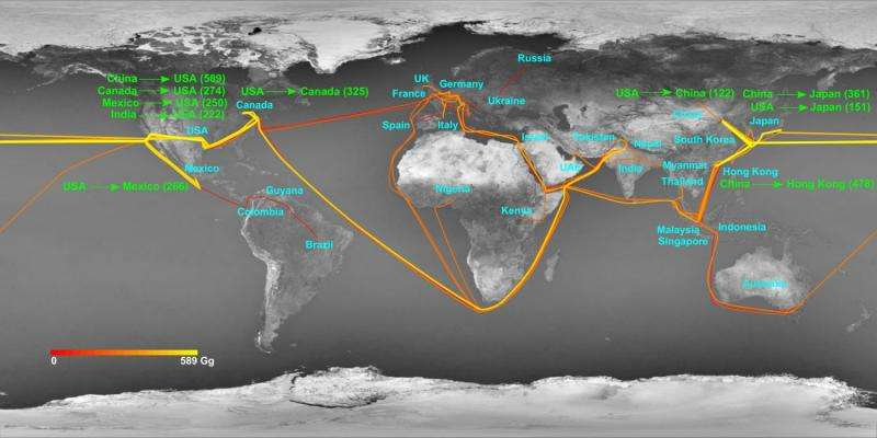 Global nitrogen footprint mapped for first time