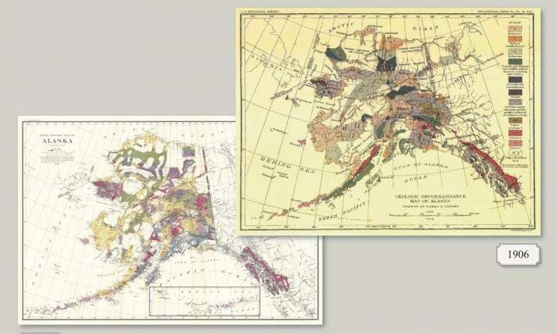 How we used a century of data to create a modern, digital geologic map of Alaska