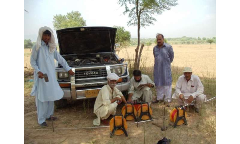 NASA data used to track groundwater in Pakistan
