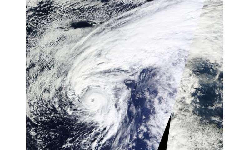 NASA sees formation of unusual North Atlantic Hurricane Alex