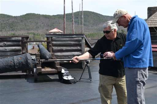 Project confirms NY fort's old guns came from Florida wreck