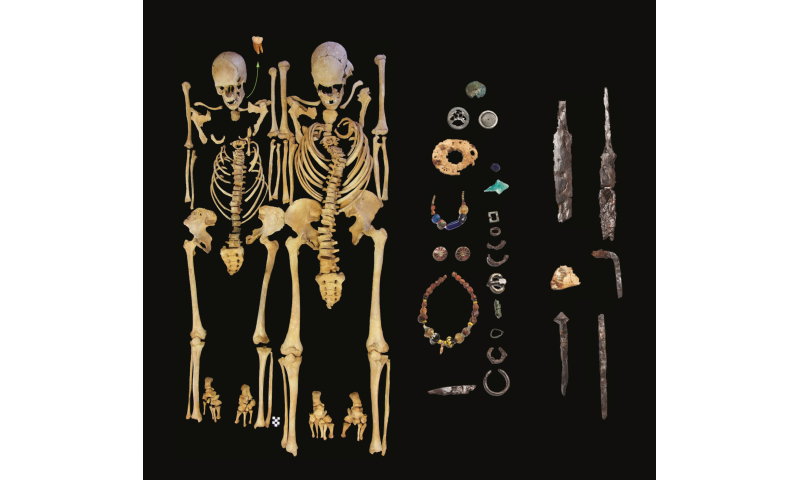 Reconstructing the 6th century plague from a victim