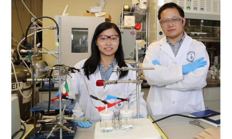 Saving sunshine for a rainy day: New catalyst offers efficient storage of green energy