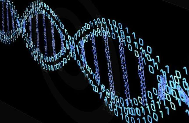 Stylized image of DNA