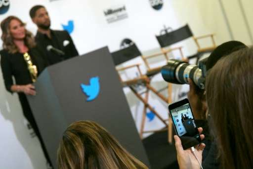 Twitter's live video-streaming application, Periscope, pictured in use here, allows anyone to broadcast live to a global audienc