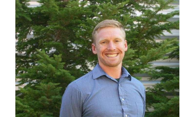 Utah State University river scientist Nate Hough-Snee