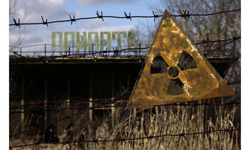 das Symbol von Tschernobyl