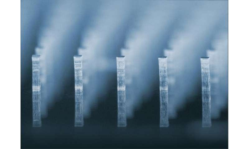 Breakthrough for lab-on-a-chip material