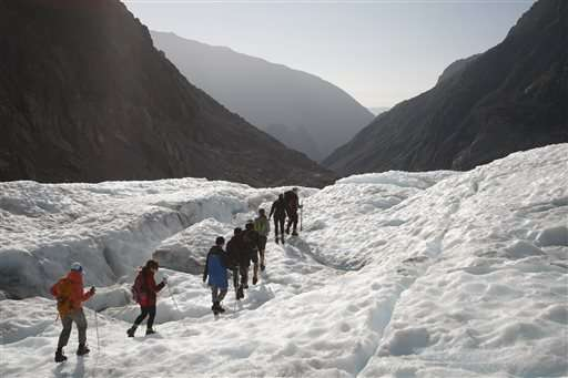 Rapid melt of New Zealand glaciers ends hikes onto them