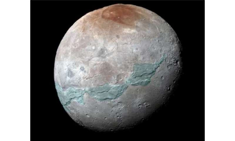 Researchers study Charon's internal evolution