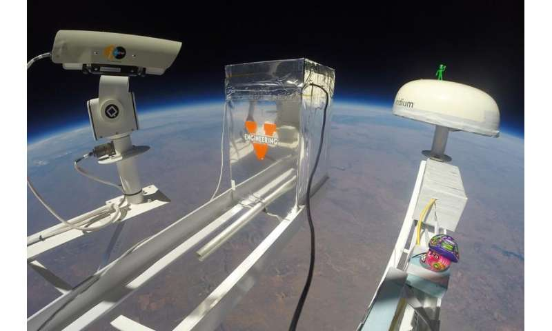 Balloon launch takes student research to great heights