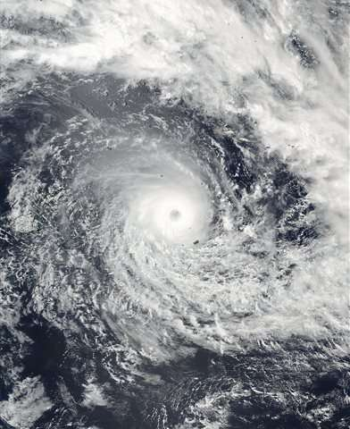 Ferocious cyclone strikes Pacific island nation of Fiji