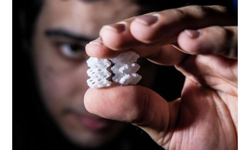 Bioengineers make open-source laser sintering printer for biomaterials fabrication